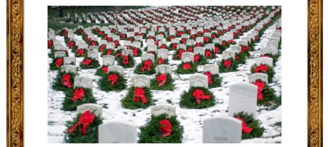 Holiday Wreaths for Fort Post Cemetery