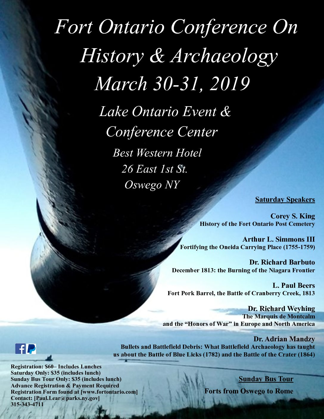 Fort Ontario Conference on History & Archeology – Historic