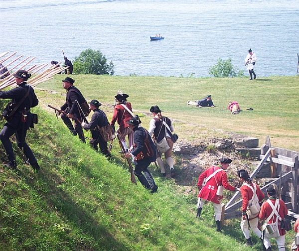 Revolutionary War Reenactment – Historic Fort Ontario